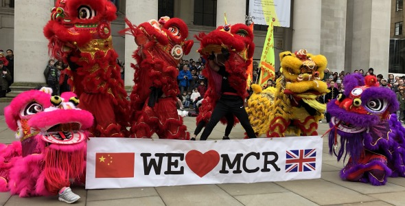 Photo of Chinese New Year 2019 at Manchester Central Library