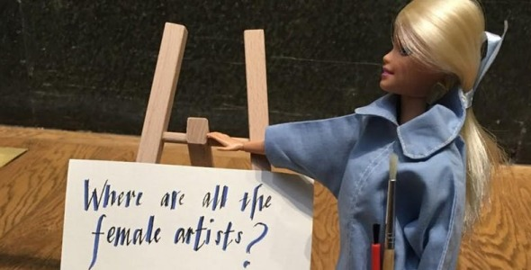 Photo of The International ArtActivistBarbie Flashmob Day